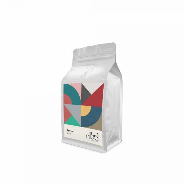 قهوه اسپرو آلبا Retro