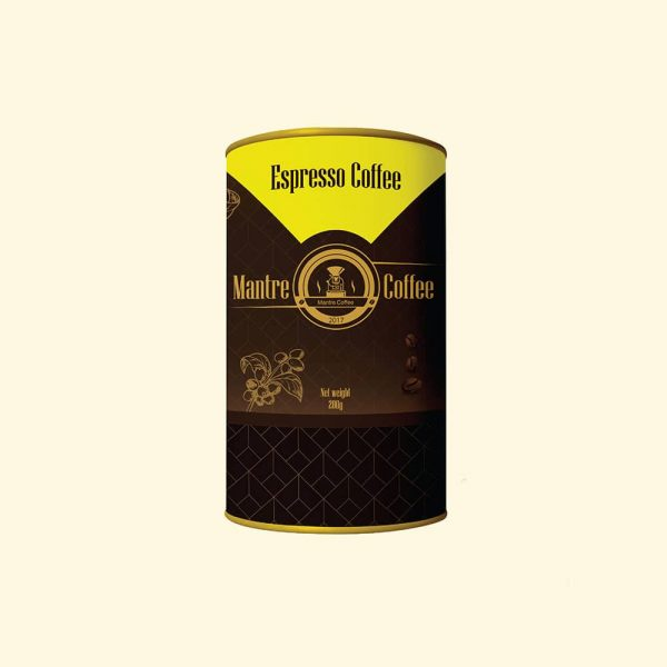 قهوه اسپرسو قوطی مانتره 200 گرمی