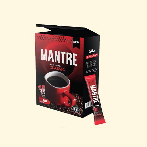 قهوه فوری کلاسیک مانتره 20 عددی