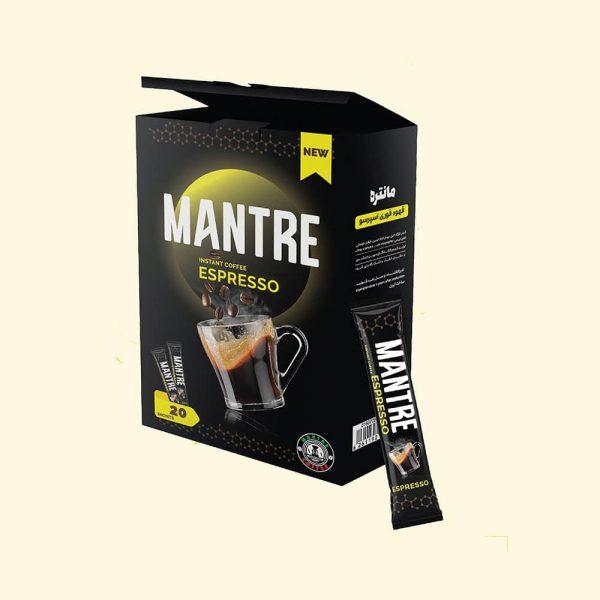 قهوه فوری اسپرسو مانتره 20 عددی