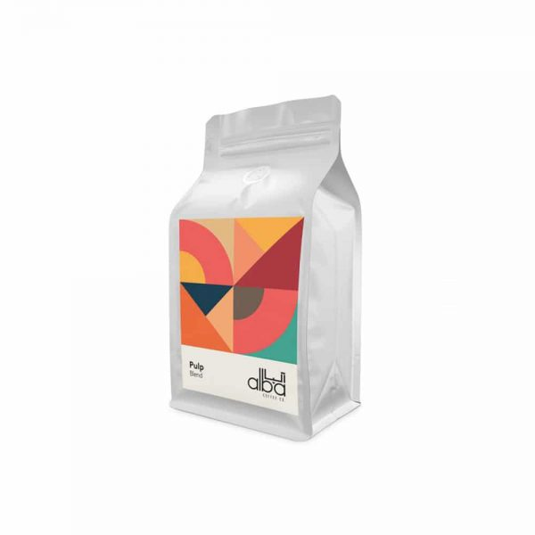 قهوه اسپرسو آلبا پالپ Pulp Blend